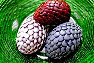 DRAGON EGG SILICONE MOULD FOOD USE SUGARCRAFT CHOCOLATE FONDANT MOLD