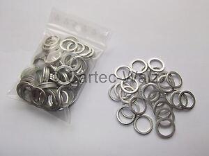 100 Stück Aluminiumring Alu Dichtringe Dichtung AL 12x16x1,5mm DIN 7603 Form A