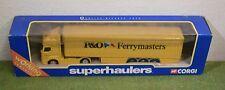 CORGI SUPERHAULERS 59548 RENAULT PREMIUM CURTAINSIDER P&O (BLUE BOX)