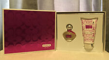 Coach Poppy Flower Eau De Parfum Women's Perfume Spray & Body Lotion GIFT SET