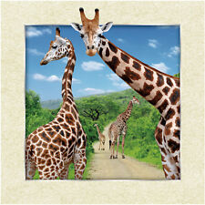Giraffe Lenticular 3D Picture Animal Poster Painting Home Decor Wall Art Decor