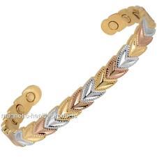 DONNE Rame Magnetico braccialetto GUARIGIONE 3 TONI - ARTRITE sollievo dal