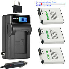 Kastar Battery LCD AC Charger for Nikon EN-EL12 & Nikon Coolpix S1200pj Camera