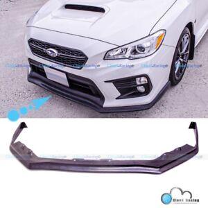 For 18-21 Subaru WRX STI CS Style Front Bumper Lip Splitter Chin Spoiler