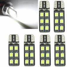 6x T10 194 168 2835 12LED Canbus Error Free Width Door Map Light Bulb White New