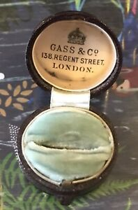 Antique Ring Box Gass & Co London