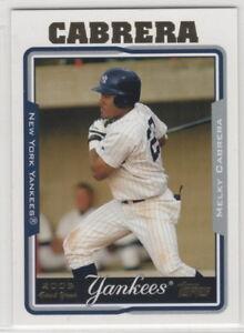 2005 Topps Baseball New York Yankees Team Set Series 1 2 and Update