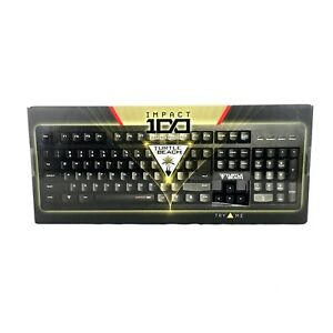 Turtle Beach Impact 100 Gaming Keyboard for PC and Mac New