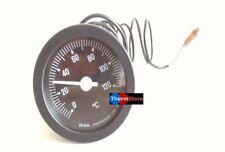 Termometro a capillare 0°-120° caldaie, bollitori diametro EST. 58 INT. 52,5
