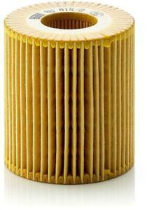 Mann-filter Oil Filter HU815/2x fits BMW 1 Series E87 116i 118i 120i