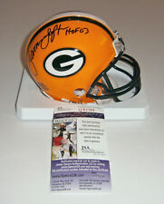 PACKERS James Lofton signed mini helmet w/ HOF 03 JSA COA AUTO Autographed GB
