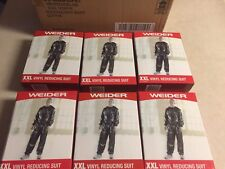 WEIDER Vinyl Weight Loss Suit Size XXL New in Box Workout Case Of 6 Suits 🏋🏿