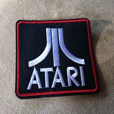 """3-1/2"""" ATARI Video Game System/Console Vintage/Retro Logo IRON-ON PATCH! 2600"""