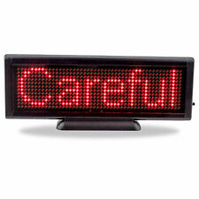 8.6 x 3 inch LED Display Board USB Programmable Scrolling Message Business Sign