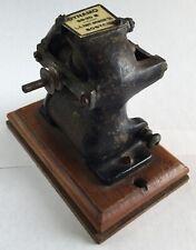 Old Vtg Antique Dynamo Le Knott Apparatus Co 98-20 B Miniature Electric Motor