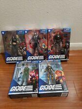 G.I. Joe Classified Series Zartan, Cobra Commander, Major Bludd, Lady Jaye,...