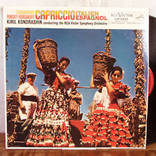Kiril Kondrashin Tchaikovsky Capriccio Italien Espagnol LP RCA VG+