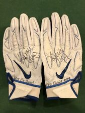 Kyle Juszczyk Used Pro Bowl Gloves Autographed 49ers