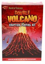 World of Science - Make Your Own Double Volcano Eruption Kit - Educational Toy