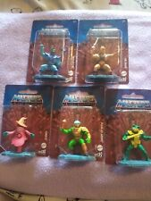 Masters of the Universe Micro Collection He Man Skeletor Orko Man-at-arms Merman
