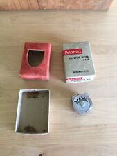 Vintage Polaroid Exposure Meter #620 Metrawatt Type