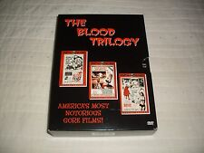 BLOOD TRILOGY DVD HERSCHELL GORDON LEWIS OUT OF PRINT