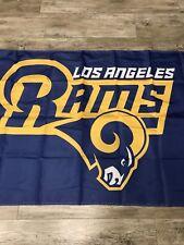 Los Angeles LA Rams Football 3x5 Banner Flag Man Cave Same Day Ship Playoffs