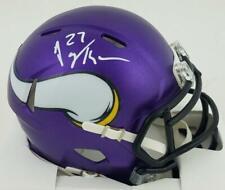 Jayron Kearse Signed Minnesota Vikings Autographed Mini Helmet JSA Witness COA