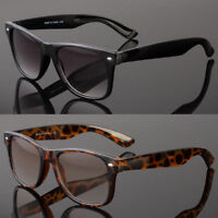 Retro Classic Full Lens Magnified Tinted Sun Readers Reading Sunglasses UV400