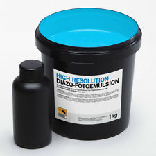 1kg HIGH RESOLUTION Fotoemulsion (Diazo/Plastisol ) | Siebdruck Kopierschicht