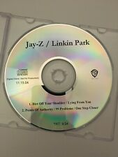 Jay-Z/ Linkin Park DJ Radio Promo CDR CD Impossible To Find Collision Course OOP