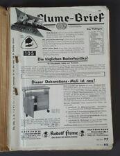 """""""Der Flume Brief"""": Katalog-Sammlung Prospekt 1953/59  (j)"""