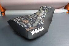 Yamaha Grizzly 660 Logo Camo Top Seat Cover #yz61kya61