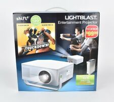 "NEW SHIFT³ LIGHTBLAST Entertainment Projector 120"" Display (8D) In Box Authentic"