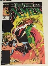 CLASSIC X-MEN 37 COVER DARK PHOENIX SAGA Jean Grey Emma Frost Steve Lightle 1989