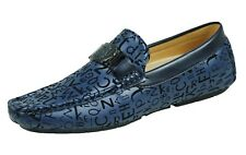 Shoes Moccasins Man Diamond Shoes Blue Super Light Elegant Business From 41 A 44