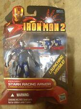 Marvel IRON MAN 2 Movie Series STARK RACING ARMOR #40 MIP!