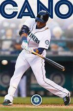 Robinson Cano Seattle Mariners 2014 MLB Baseball Poster 22x34