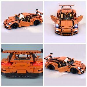 Led Light Kit For 42056 Porsche 911 GT3 RS Building Blocks FAST SHIPPING!!