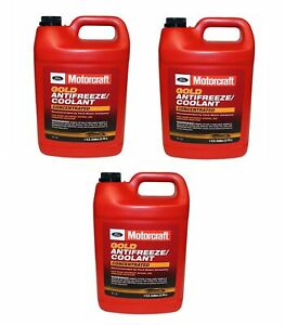 🔥Motorcraft Set of 3 Coolant/Antifreeze for Ford Lincoln Mercury🔥