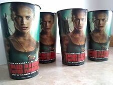 Tomb Raider Movie Theater Exclusive 44oz Cups - Set of 4