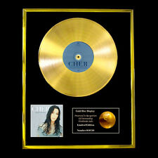 CHER   BELIEVE CD GOLD DISC RECORD LP DISPLAY FREE P&P!