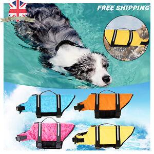 Dog/Pet Life Jacket Vest Buoyancy Rescue Saver Coat for Swimming Surfing Sailing