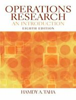 Operations Research: An Introduction por Taha , Hamdy Un