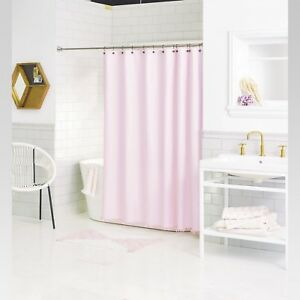 Melon Fray Shower Curtain 72x72 Pink Cream New