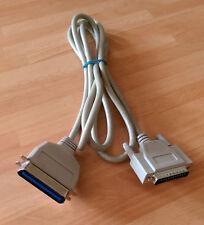 2 m cable de impresora paralelo Centronics, 36 Pin Macho a Macho DB25 Pin
