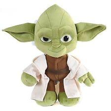 """Official Disney Star Wars 2015 Yoda Soft Plush Toy 10"""" / 25cm"""