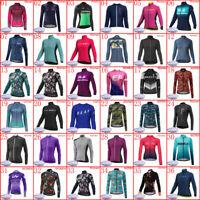 Women's Thermal Winter Cycling Jersey Ladies Fleece Bike Cycle Shirt Tops S-6XL