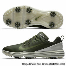 NEW $135 NIKE LUNAR COMMAND 2 GOLF SHOES 849968 300 WATERPROOF KHAKI GREEN SZ 8