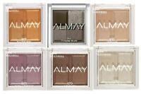 Almay Shadow Squad Mini Quad Eyeshadows Various Shades Set LOT OF 6